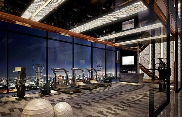 Ashton-Chula-Silom-Bangkok-condo-for-fitness