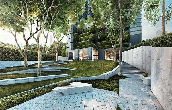Ashton-Chula-Silom-Bangkok-condo-for-garden